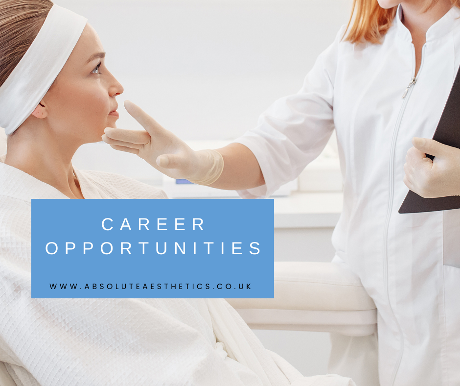 Career Opportunities available at Absolute Aesthetics